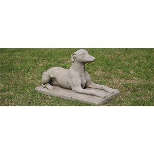Dragonstone Gartenbild Whippet Hund