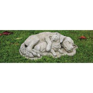 Dragonstone Tuinbeeld hond en kat