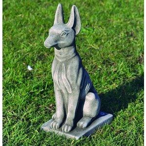 Dragonstone Gartenstatue Pharaoh Hund