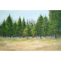 Canvas schilderij 120 x 60cm Woud