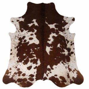 Bovine skin large round fur