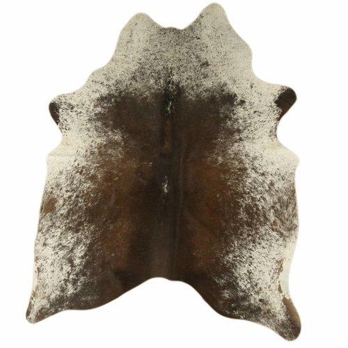 Rinderhaut groß Geflecktes Braun
