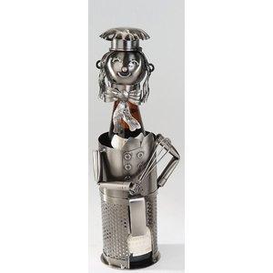 Wijnfles houder Kok