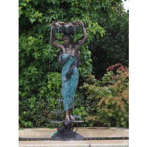 Bronze women's fountain
