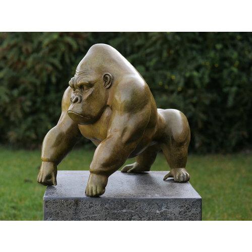 Bronze Gorilla grünes heißes Platin