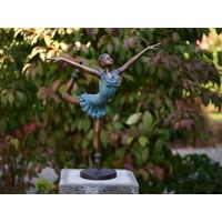 Bronzen ballerina 57 cm