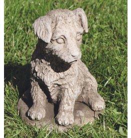 Tuinbeeld hond Jack Russel