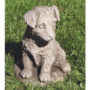 Gartenbildhund Jack Russel