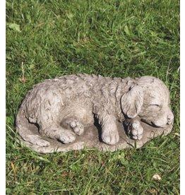 Tuinbeeld hond Retriever pup