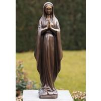 Mary-Statue 48cm Bronze