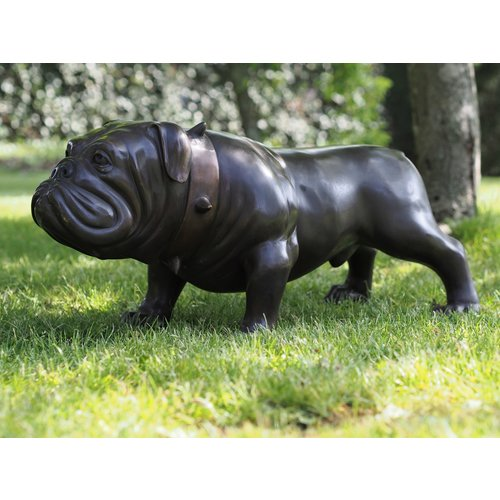 Bronzen bulldog