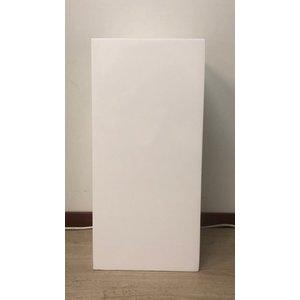 Eliassen Zuil  hoogglans  wit  80cm