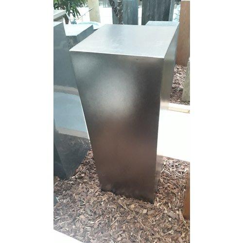 Eliassen Zuil Zilver- Metaal kleur  100cm