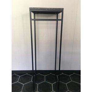 Eliassen Säule Stahl Terazzo 80 cm