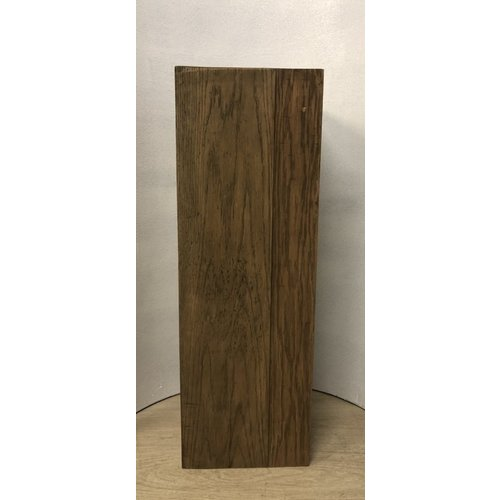 Eliassen Sokkel Hout Naturel 28x28x80cm