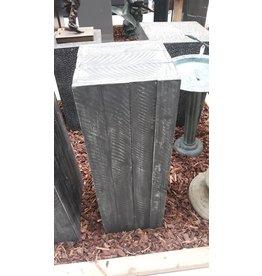 Eliassen Base Wood Dark gray 28x28x80cm
