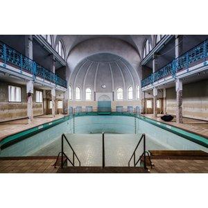 Dibond Malerei überdimensionalen Pool
