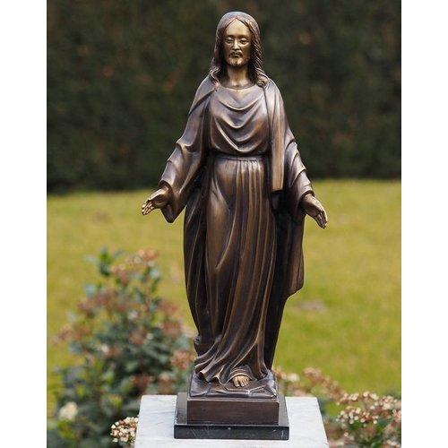 Eliassen Bronzen beeld Jezus