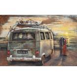 Eliassen 3d Malerei Metall VW Bus 1 80x120cm