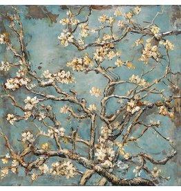 Eliassen Schilderij metaal 3d Springtime 100x100cm