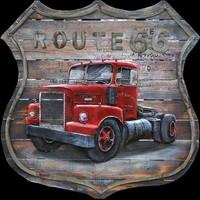 3D schilderij 100x100cm Mack