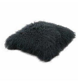Pillow of Tibetan coat Petrol