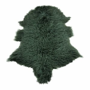 Schaffell tibetisch grün