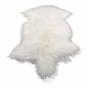 Sheepskin Tibetan White
