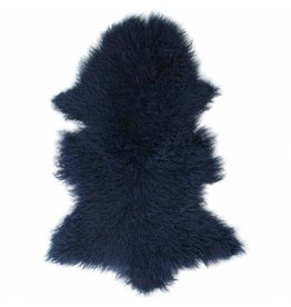 Sheepskin Tibetan navy blue
