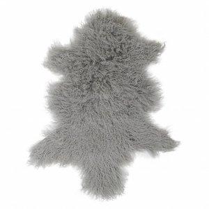 Sheepskin Tibetan Light gray