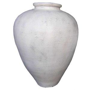 Eliassen Interior Vase Spolla 100x80cm Altweiß