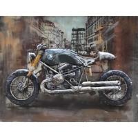 3-D schilderij 60x80cm BMW motor