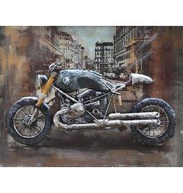 Eliassen 3-D schilderij 60x80cm BMW motor