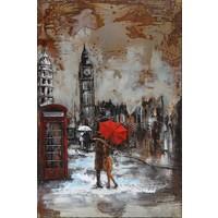 3D schilderij Londen 120x80cm