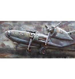 Eliassen 3D Painting metal Lancaster 70x140cm