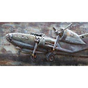 Eliassen 3D Schilderij metaal Lancaster 70x140cm