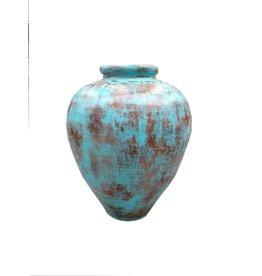 Eliassen Interieur Vaas  Spolla 80x65cm Turquoise