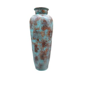 Eliassen Interior Vase Glato 120cm Old turquoise