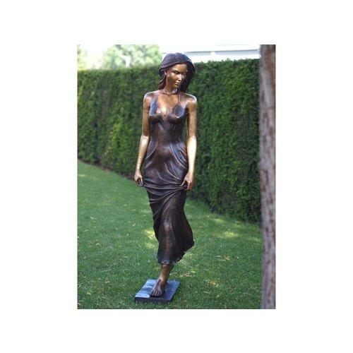 Bronzefrau in 2 Farben