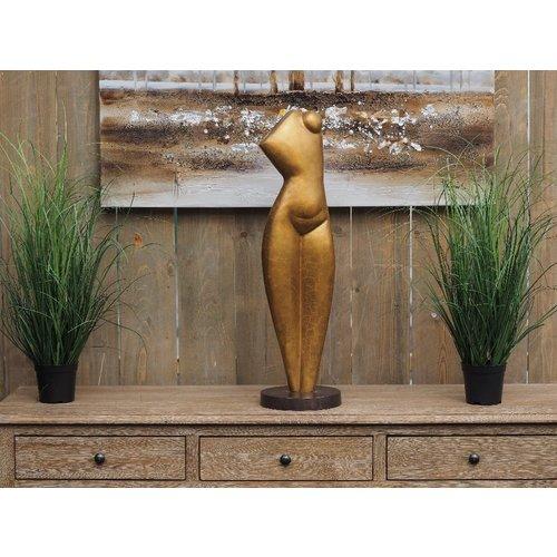 Bronzen vrouwenbuste modern