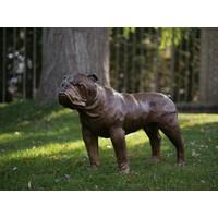 Bronzen hond