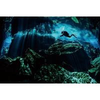 Höhlenmalerei Glasfoto 80x120cm