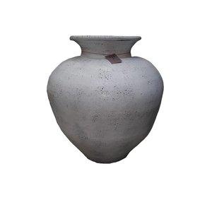 Eliassen Interior Vase Polos Old white 70x80cm