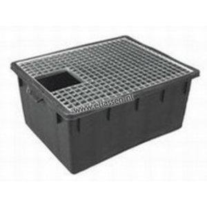 Rechteck Wasserbehälter + Rost 150 Liter Kombination