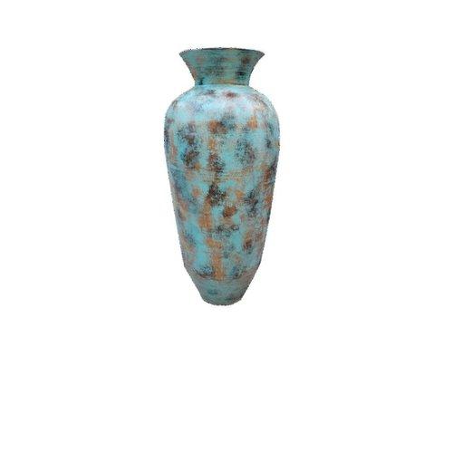 Eliassen Interior Vase Kolo Old turquoise 50x100cm