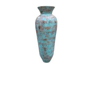 Eliassen Interieur Vaas  Kolo  Oud turquoise 60x150cm