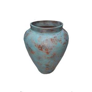 Eliassen Interior Vase Talp Old turquoise 80x65cm