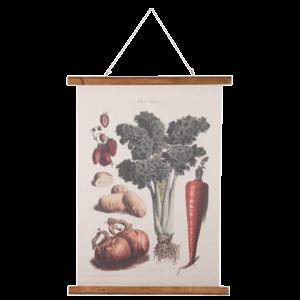 Eliassen Wandkarte Gemüse 55x75cm