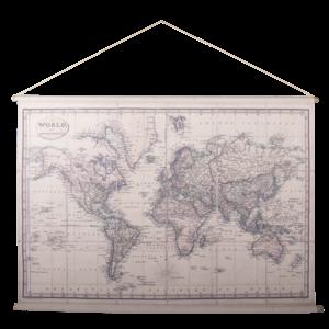 Eliassen Wandkarte Wereld1 154x106cm