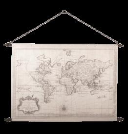 Eliassen Wandkarte Wereld2 130x87cm